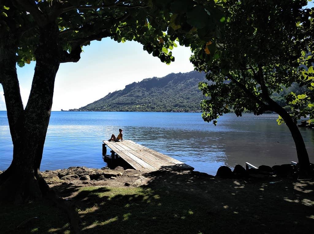 bahía Cook Moorea