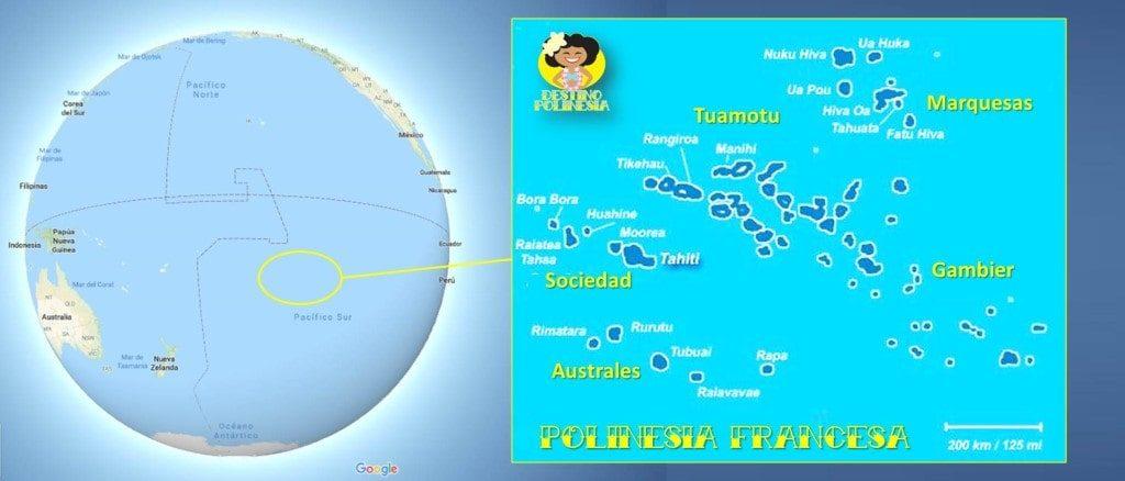 mapa polinesia francesa