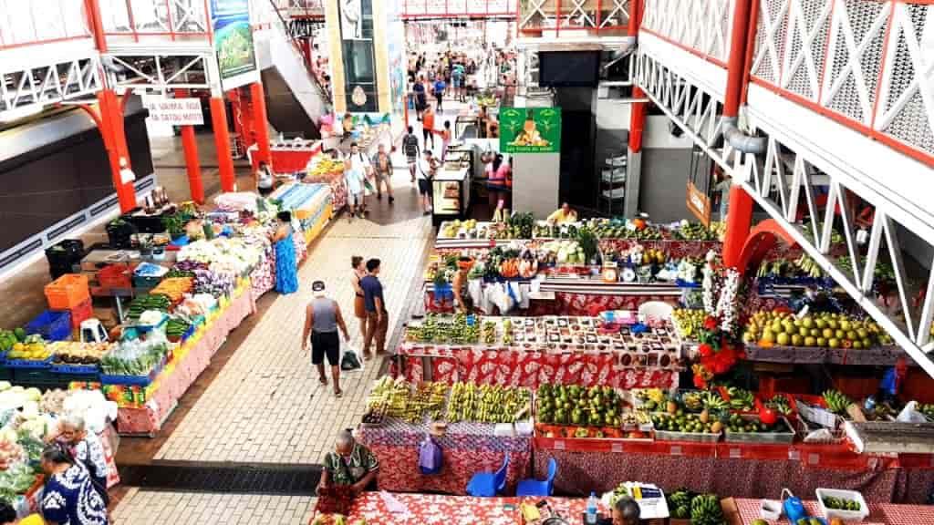 mercado tahiti