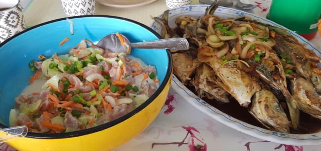 comida tahiti