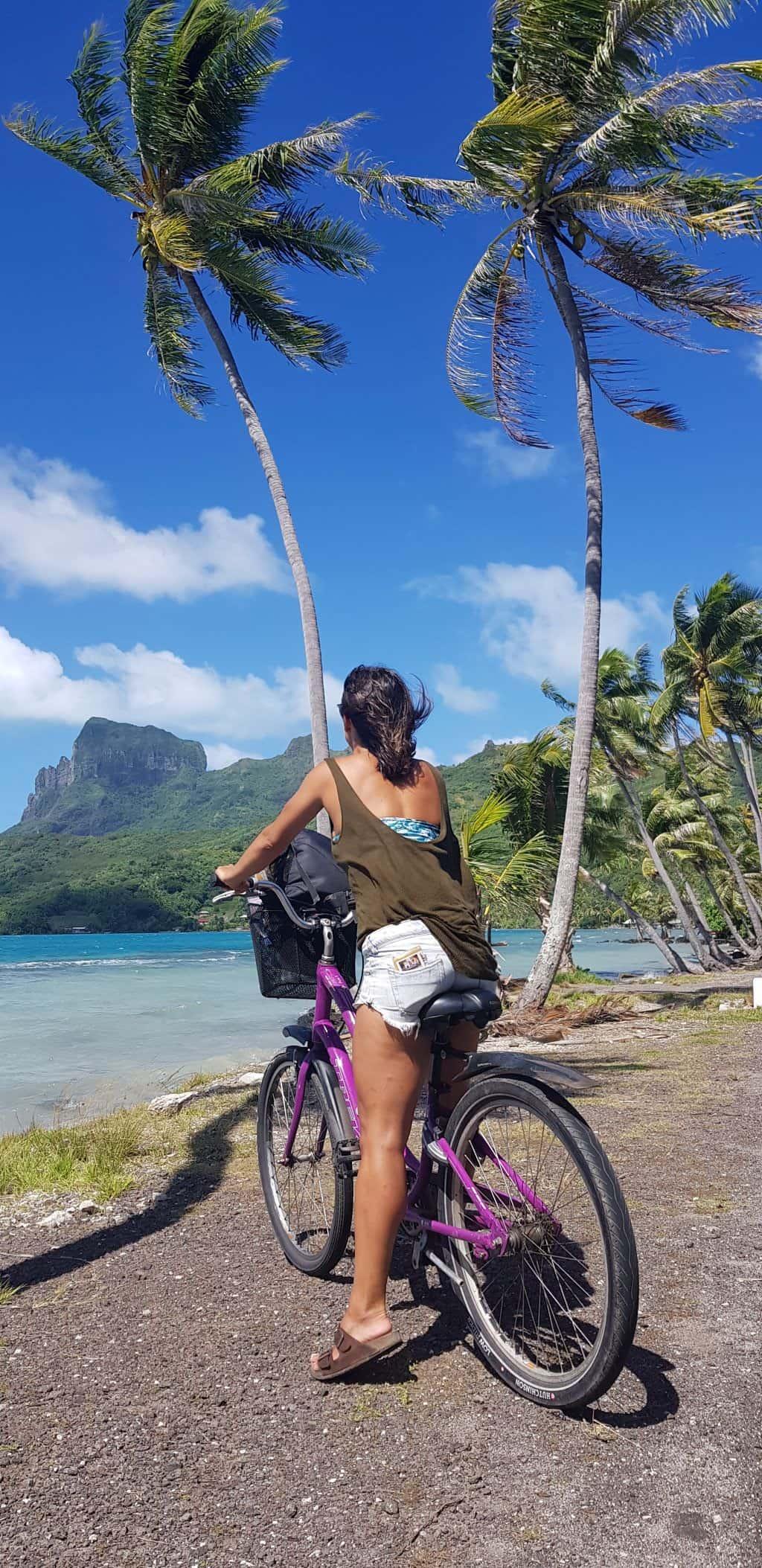 alquiler bici bora bora
