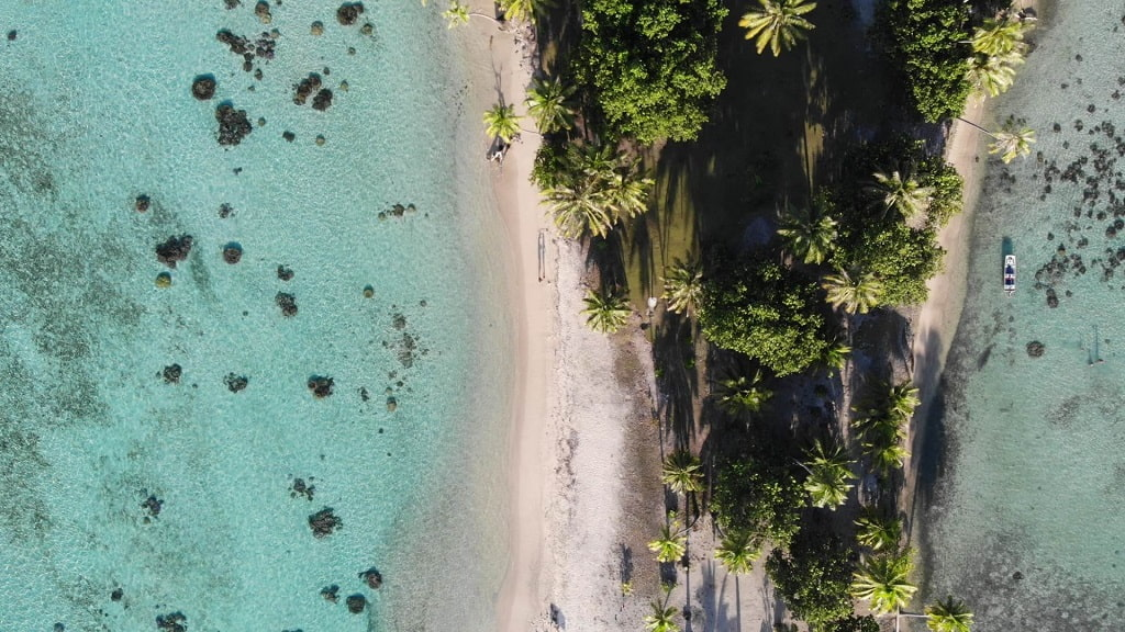 playa raiatea motu otefaru