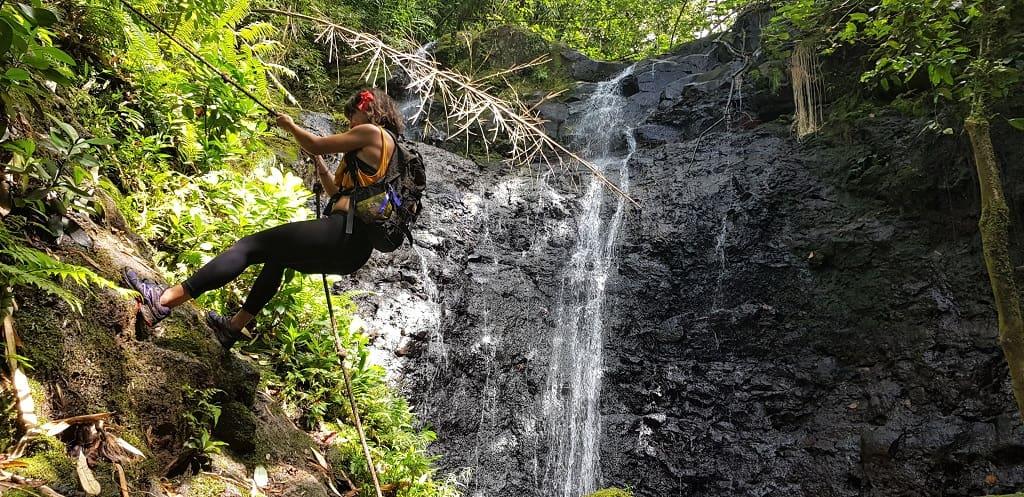 raiatea tres cascadas