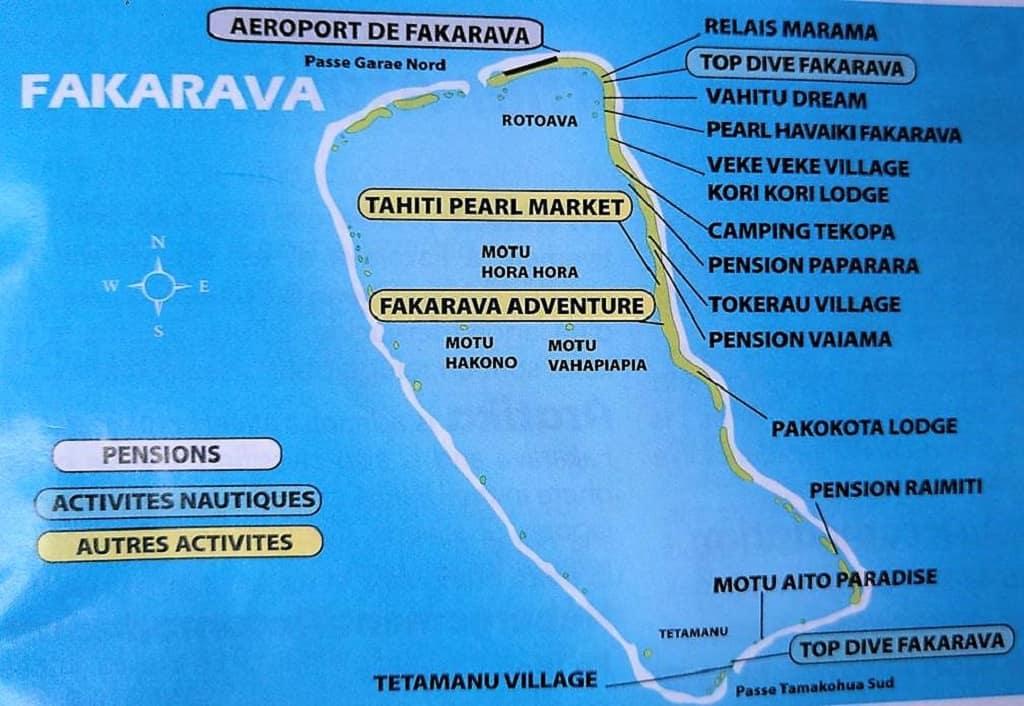 mapa fakarava