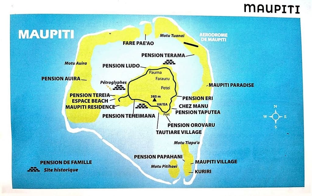 mapa maupiti